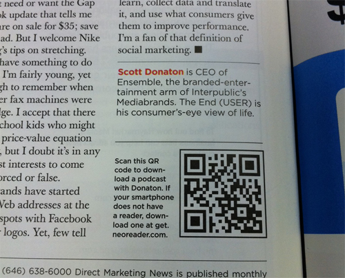 Magazine-QR-Code