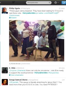 #Kenyadecides twitter hashtag