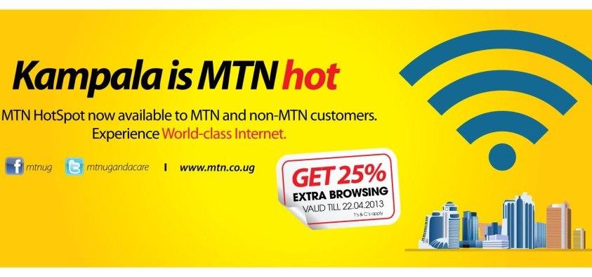 MTN HotSpot Banner
