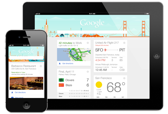 Google Now has arrived on iOS