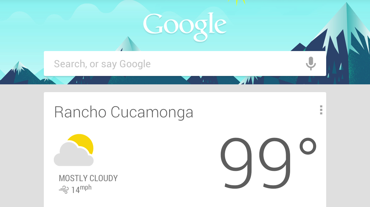 Google Now on Mobile