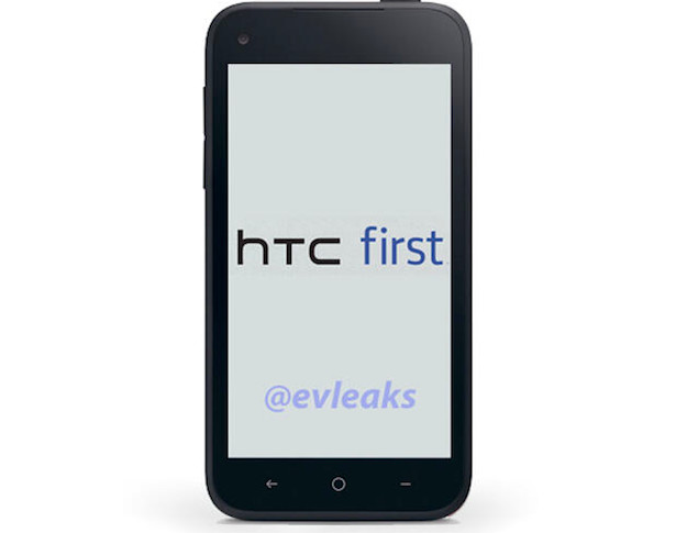 HTC First 'Facebook Phone by @evleak