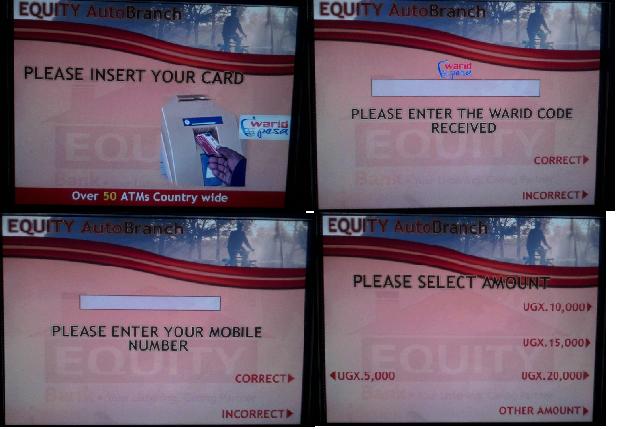 waridpesa ATM cashout