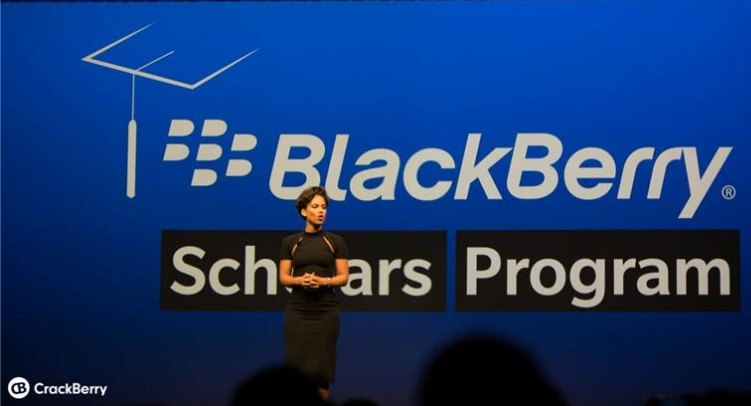 Alicia Keys announced the BlackBerry Scholars Program at BlackBerry Live 2013