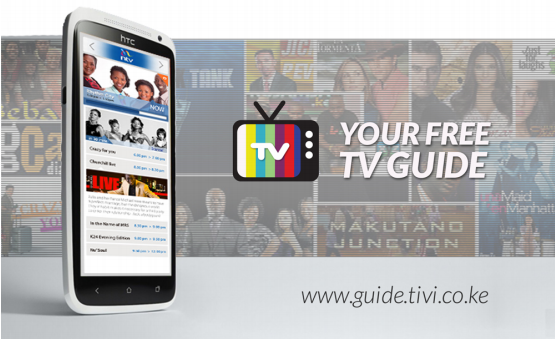 TiVi: TV guide from Kenya