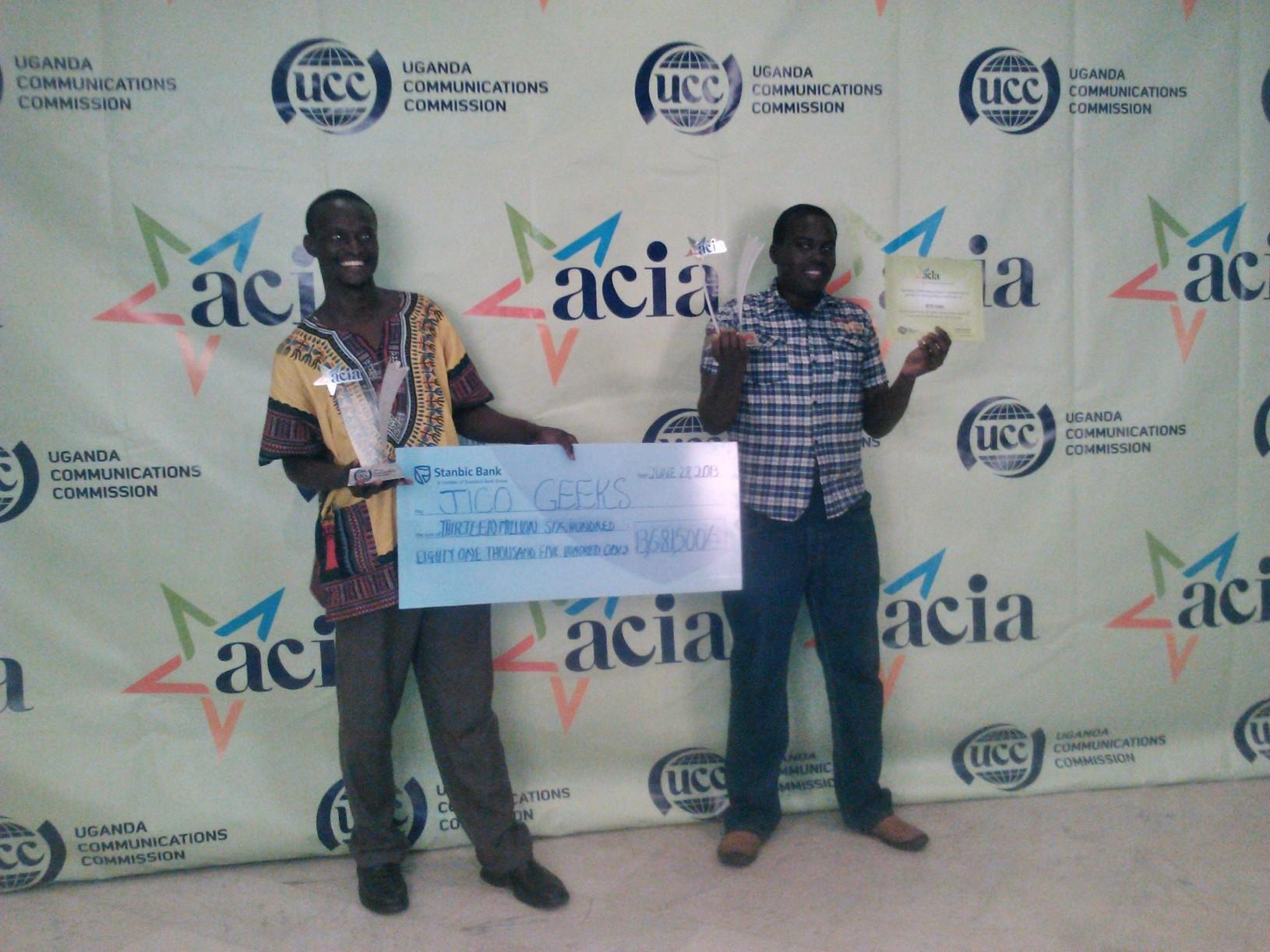 UCC ACIA AWARDS 2013
