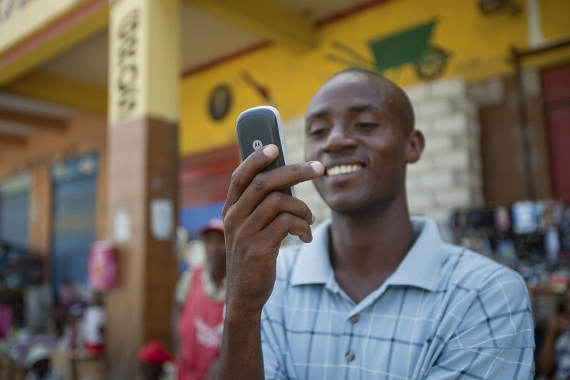 using mobile money