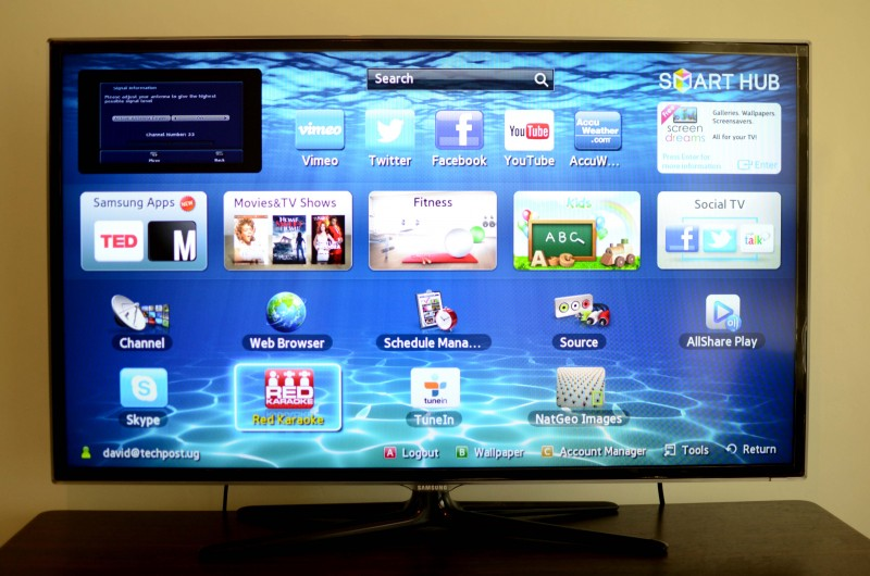 how to download directv app on samsung smart tv