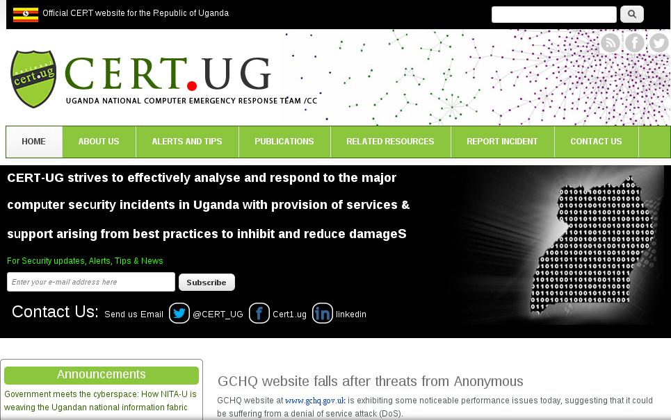 CERT Uganda