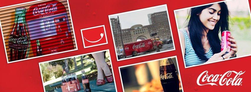 Coca-cola social media