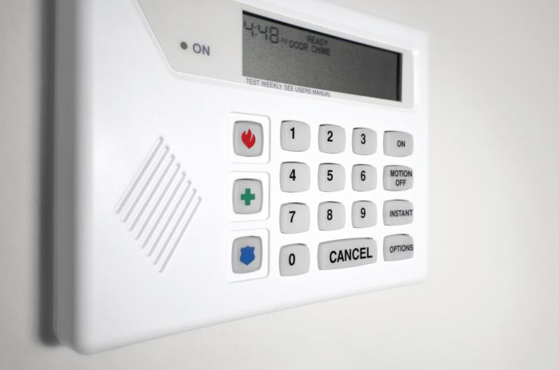 4. Home security - Shutterstock