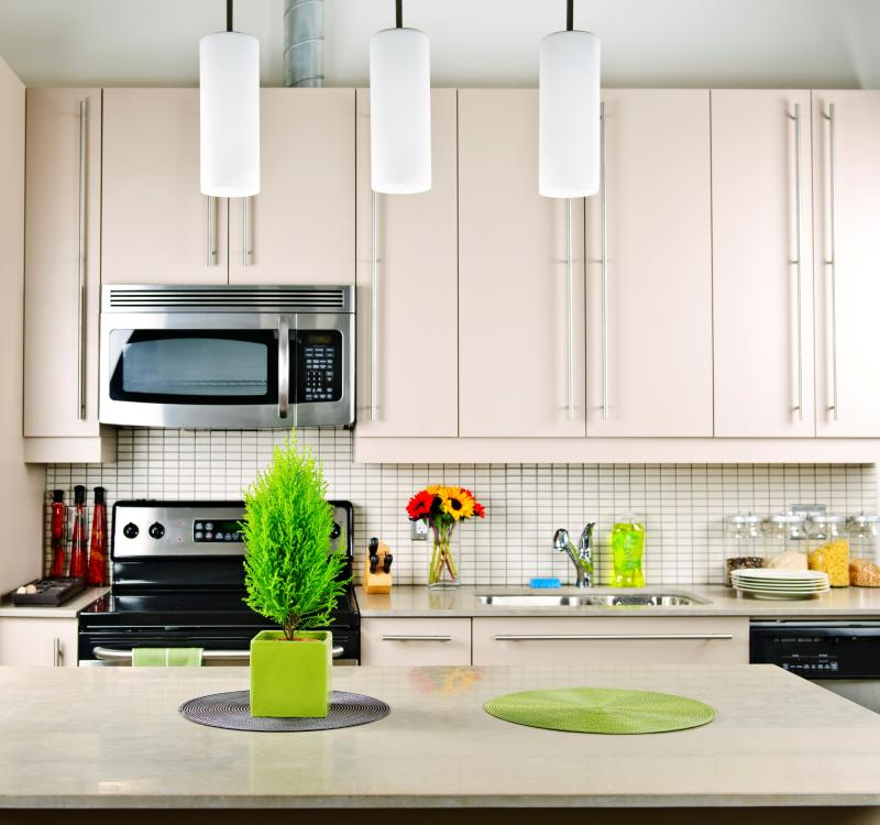 6. A modern kitchen - Ingimage
