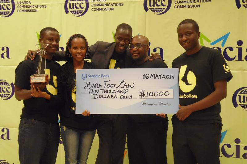 Barefootlaw recognized at ACIA Awards under the ICT for Development Category