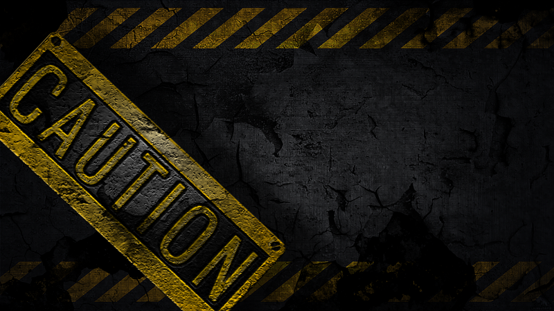 caution_wallpaper