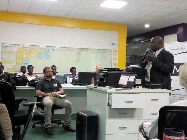 Dr. Edie at Momokla Uganda