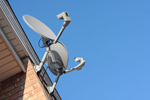 two_satellite_tv_dishes