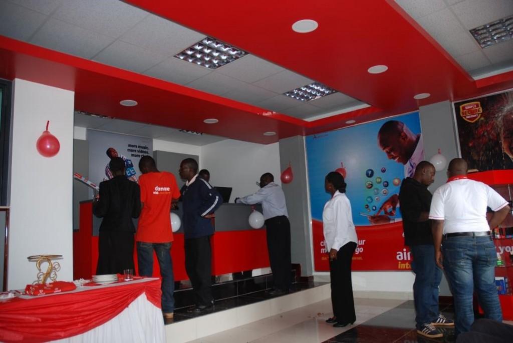 Airtel Uganda Shops