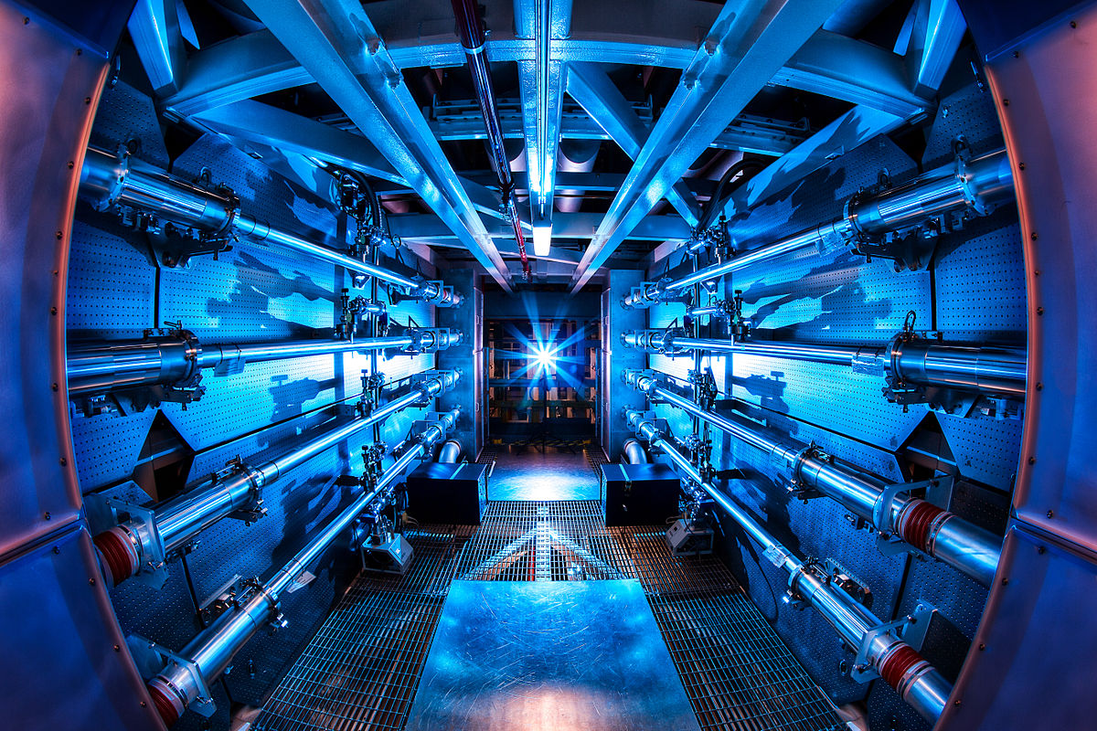 """Preamplifier at the National Ignition Facility"" by Lawrence Livermore National Laboratory - Own work. Licensed under CC BY-SA 3.0 via Wikimedia Commons - http://commons.wikimedia.org/wiki/File:Preamplifier_at_the_National_Ignition_Facility.jpg#mediaviewer/File:Preamplifier_at_the_National_Ignition_Facility.jpg"