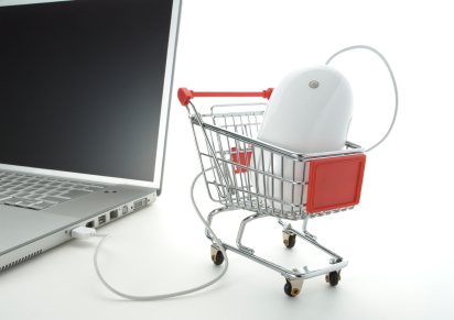 shoping-cart-laptop