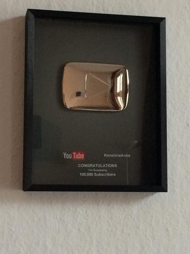 AnneKansiime_YouTubeSilverPlayButton