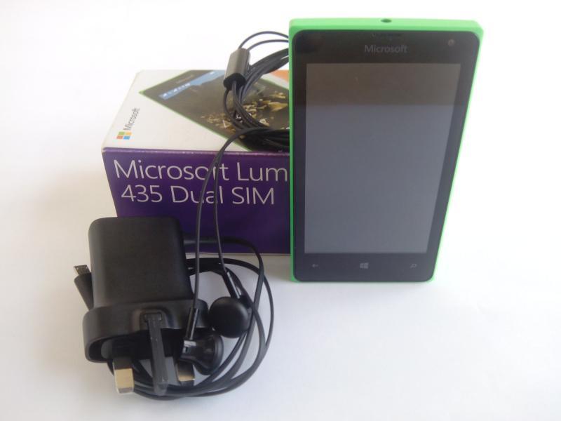 Lumia 435 unboxing