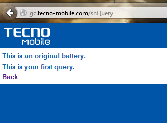 Tecno_Battery_Verification