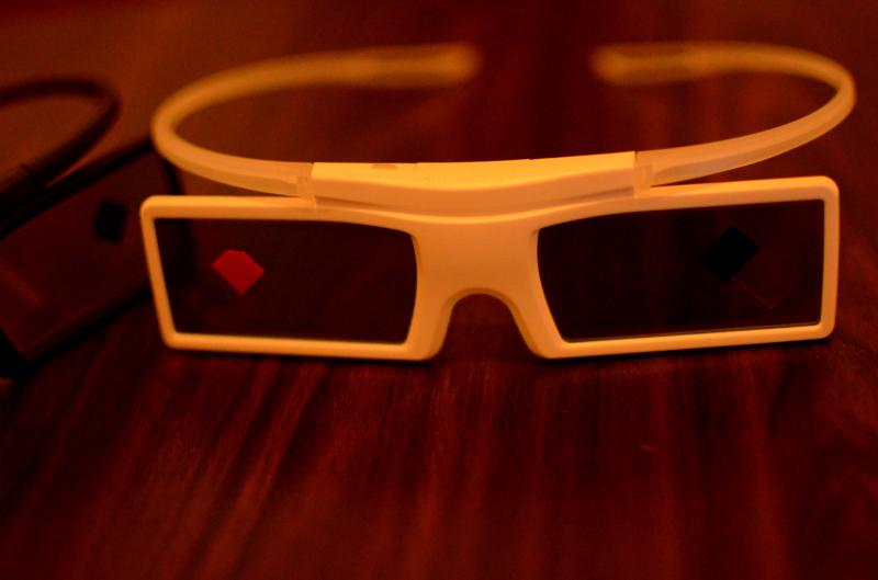 3d tv glasses