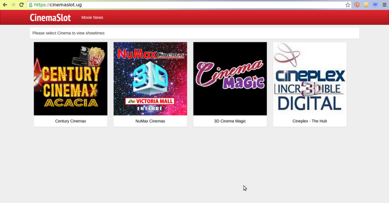 cinemaslot movie uganda website