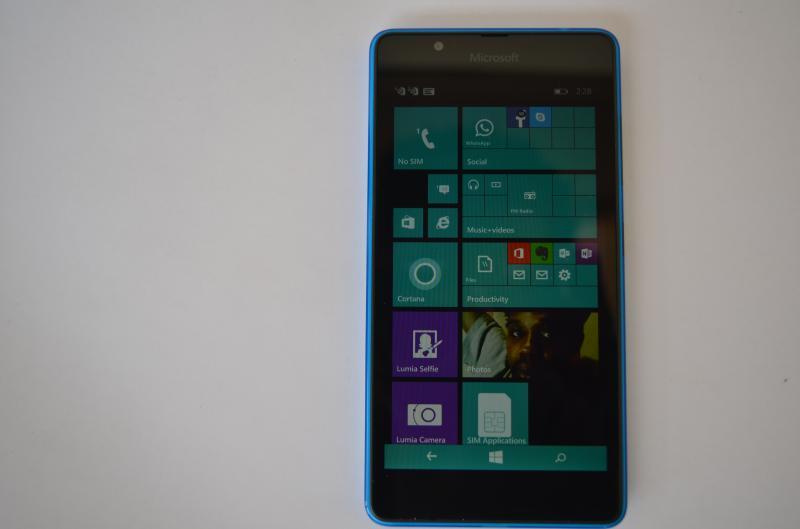 Lumia 540 front