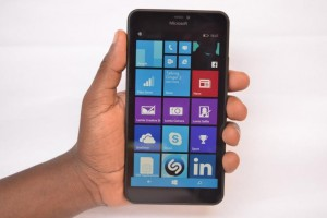 Lumia 640XL in hands