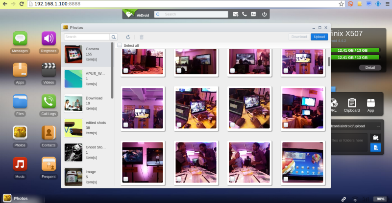 airdroid photos