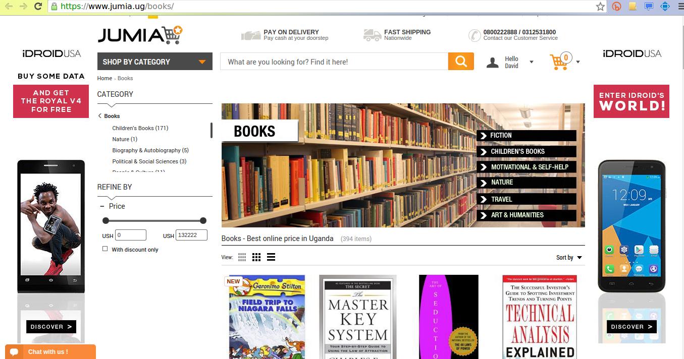 jumia uganda bookstore
