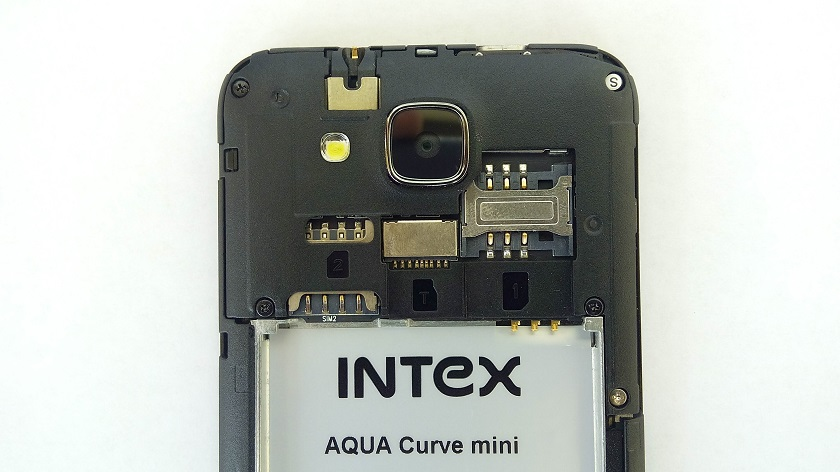 Intex Aqua Curve Mini Internals