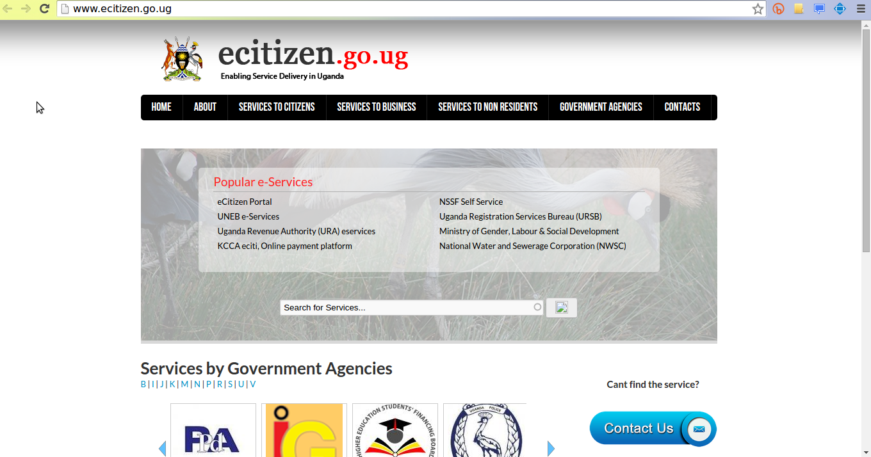 ecitizen-go-ug e-government uganda