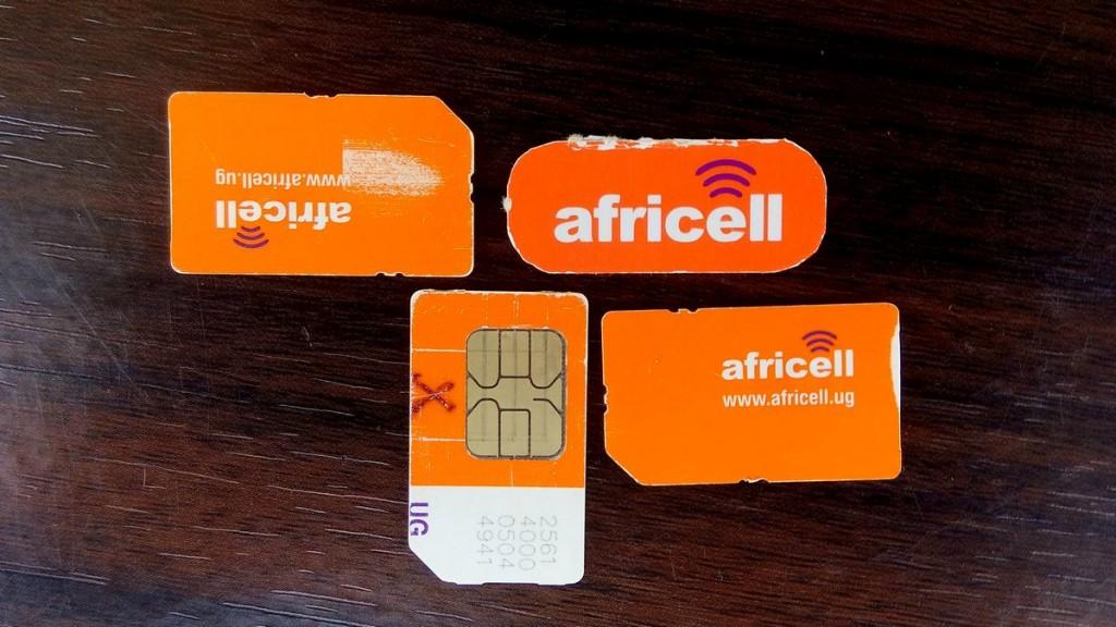 Africell Uganda SIM cards