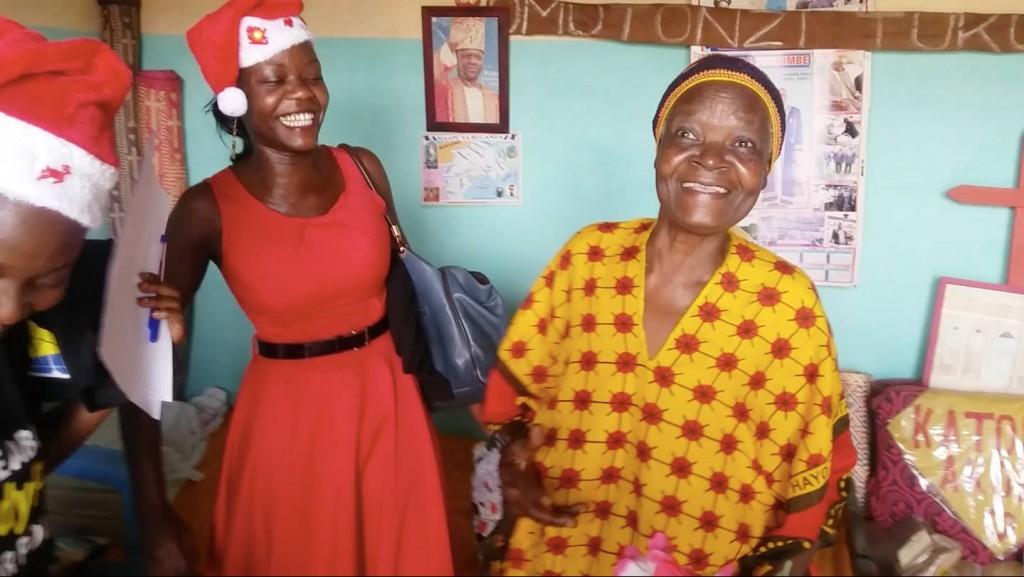 Esther Namitala surprises her Granny