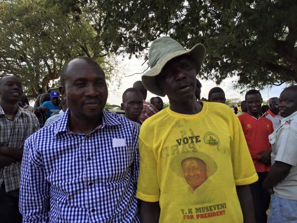 Nandala_Mafabi and a Supporter