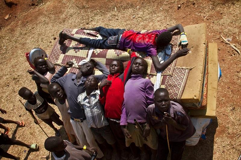 Young South Sudanese by Isaac Kasamani