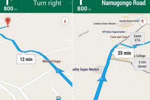 google turn by turn navigation