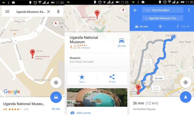 How to use google maps turn by turn navigation to get to any google maps navigation gumiabroncs Choice Image