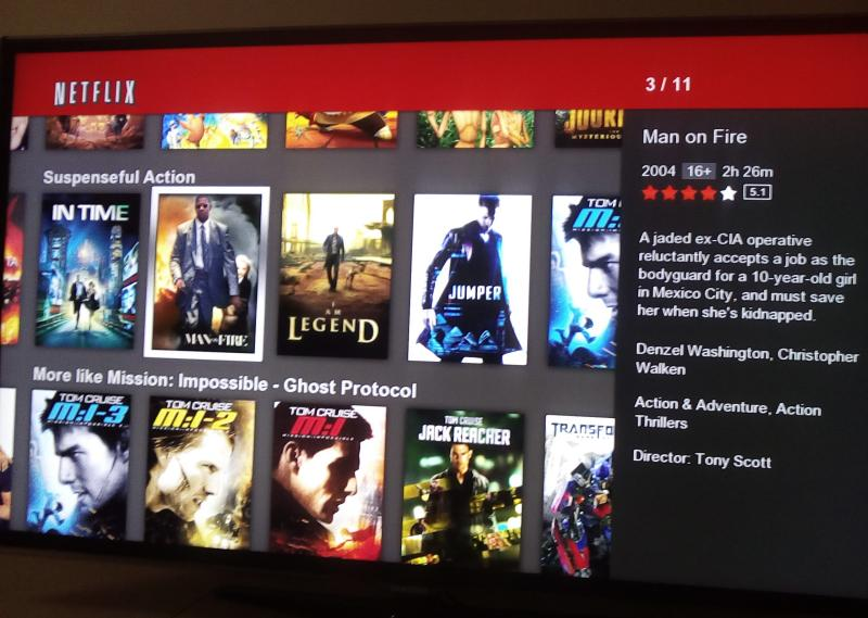 netflix movie collection