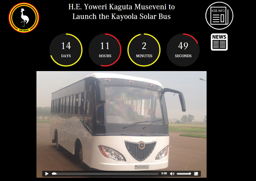 Kayoola Bus Launch