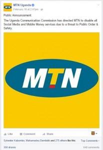 MTN Uganda Apology