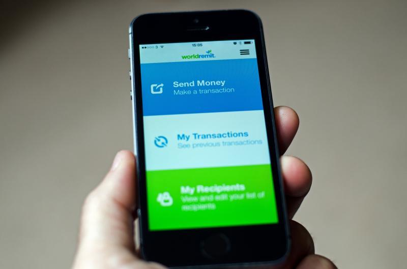 worldremit mobile app