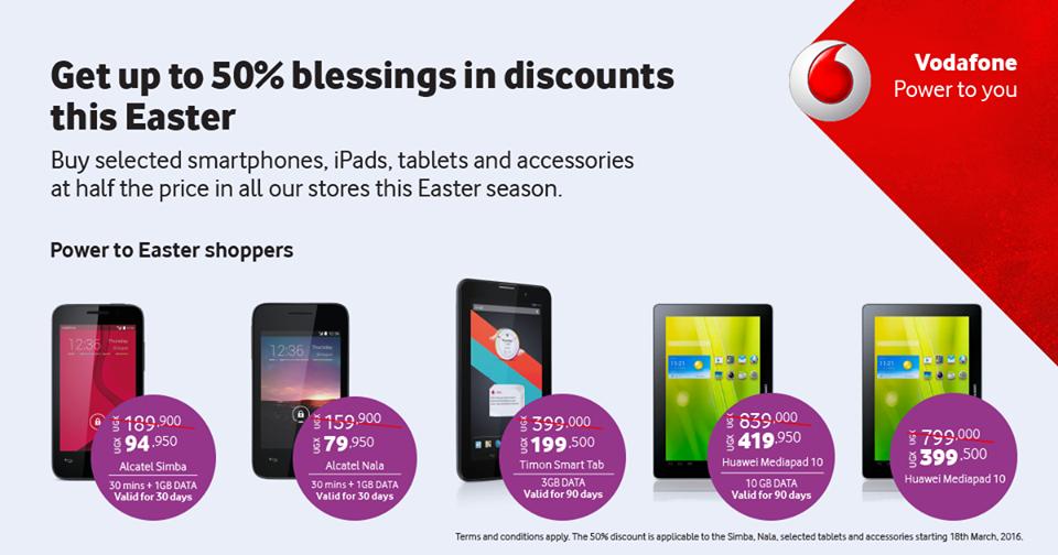 Alcatel Nala, Alcatel Simba, Huawei Mediapad