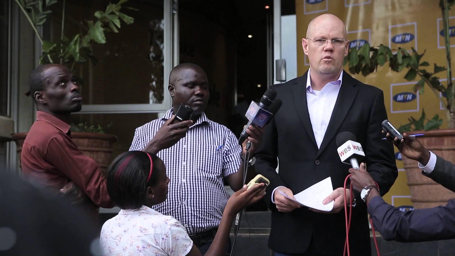 MTN Uganda CEO Brian Gouldie