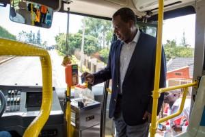 Cashless bus fare: Pay & Go Rwanda