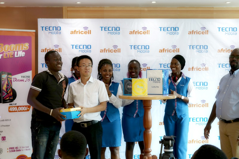 Tecno Boom J8 in Uganda