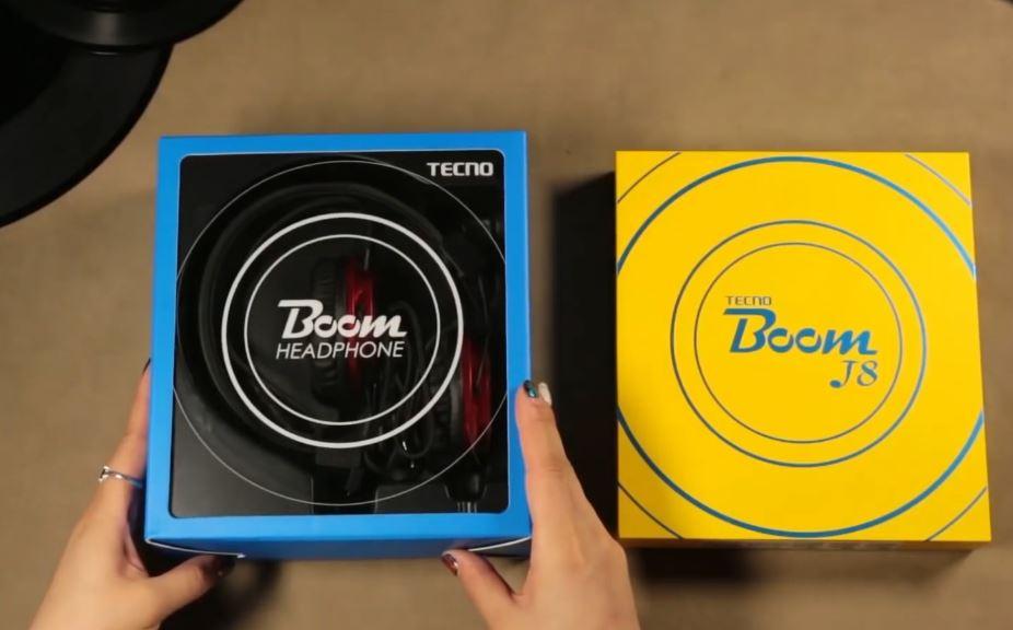 Tecno Boom J8 Video 2