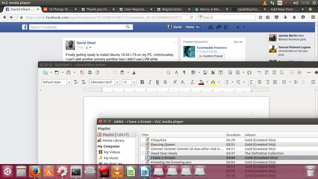 ubuntu 16.04 LTS screenshots